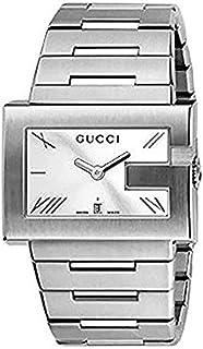 Gucci - Reloj analogico para Mujer de Cuarzo con Correa en Acero Inoxidable YA100306