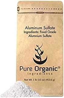 Ammonium Sulfate (1 lb.) by Pure Organic Ingredients, Eco-Friendly Packaging, Fertilizer & Soil Acidifier, Highest Quality, NO Iron OR Aluminum (Also in 8 oz, 2 lb, 5 lb, 25 lb)