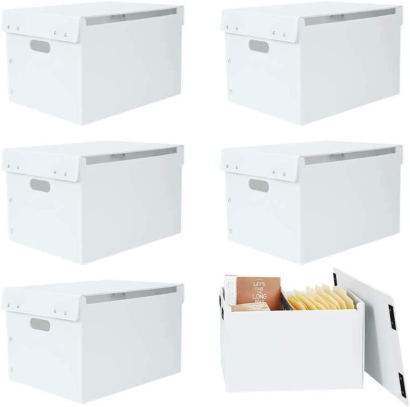 ATBAY File Storage Box Collapsible Ranking TOP1 In stock Capacity Office Large Or