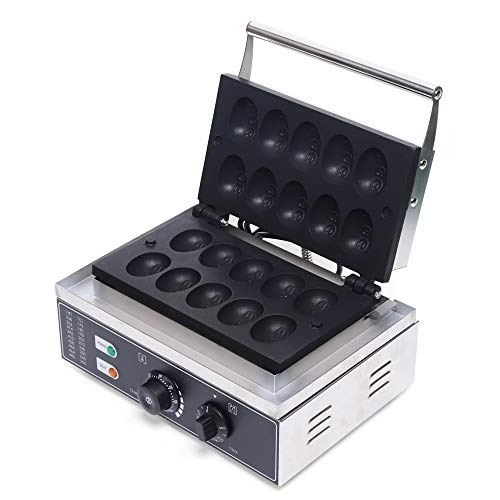 Commercial Nonstick Electric Egg Cake Egg Shaped Waffle Maker Iron Baker Machine Electric Non Stick for Any Breakfast/Lunch and Snacks Etc