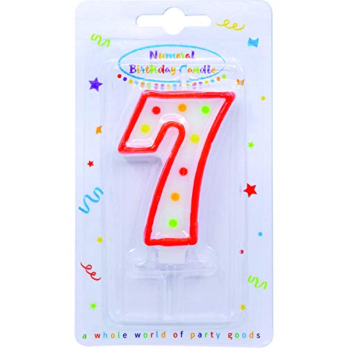 Procos- Vela con número 7.