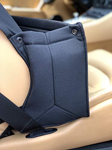 Autositz Organizer für den Beifahrersitz. Utensilientasche für Vielfahrer, ob in der Familie oder Beruflich - bagaroo Schwarz