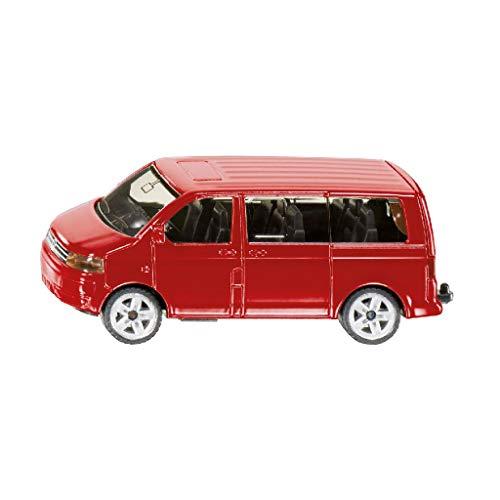 günstig SIKU 1070, VW Multivan, Metall / Kunststoff, Rot, Klapp Heckklappe, Anhängerkupplung Vergleich im Deutschland