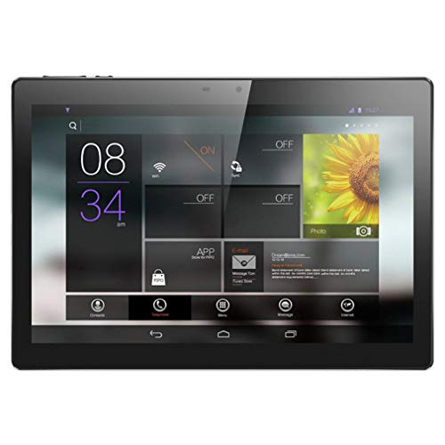 10 inch tabletcomputer 3G Bel mobiel Unicom Ips Hd-scherm Android-tablet Pc Zwart Grijs