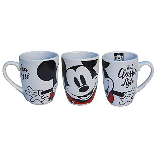 CARTOON GROUP Taza Mug Mickey Mouse Disney Mickey Mouse cerámica cónica 340...