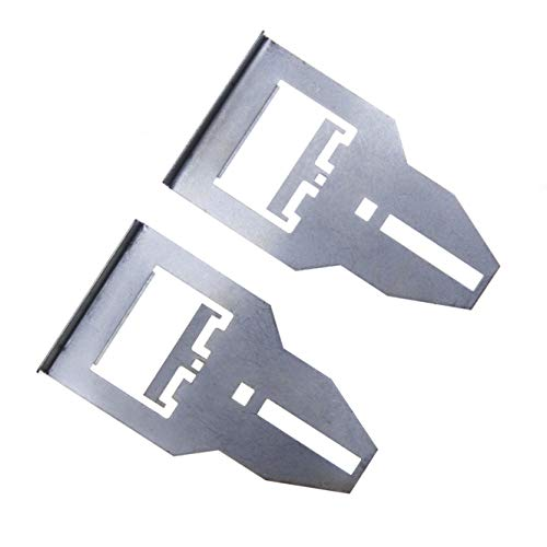 Car Radio Removal Tool Key, DIN Release Keys Compatible with Clarion Head Unit CD Player Pins, Pin Stereo Tools (2pcs)