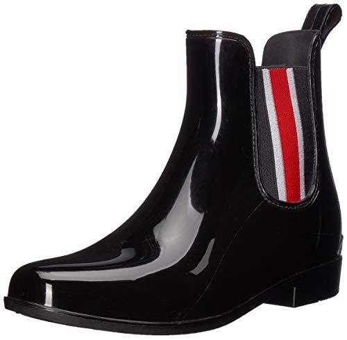 Lauren Ralph Lauren Women's Tally II Rain Boot, Black, 6 B US
