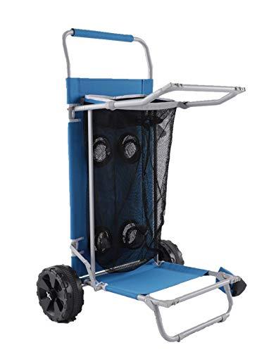 Old Bahama Bay AMZ-S21-BCH-007-001 Beach Cart, Blue