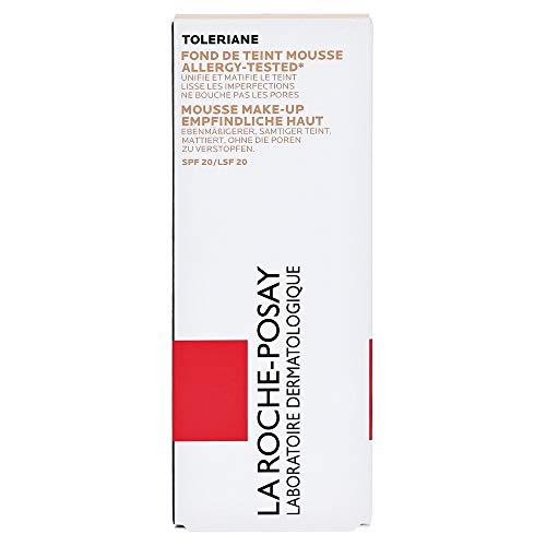 La Roche Posay Toleriane Teint Mattifying Mousse Foundation SPF 20-01 Ivory...