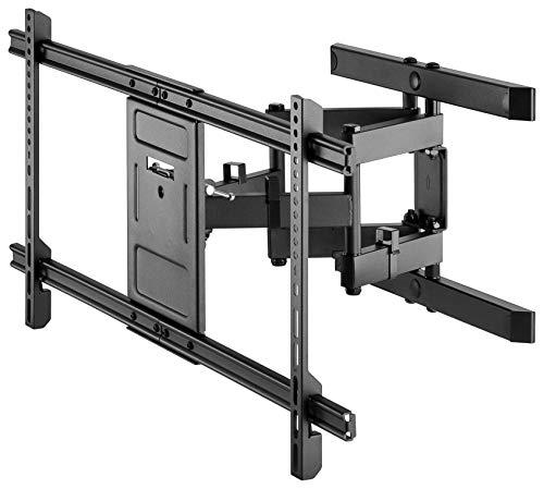 """Goobay 49746 TV-Wandhalterung Pro FULLMOTION (XL) 43\"""" bis 100\"""" (109-254 cm), vollbeweglich, schwenkbar/neigbar, 60 kg, Vesa Standard, Schwarz"""