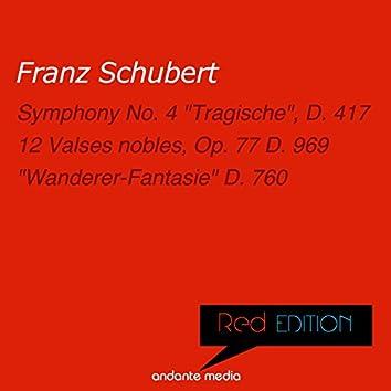 """Red Edition - Schubert: Symphony No. 4 """"Tragische"""", D. 417 & """"Wanderer-Fantasie"""" D. 760"""