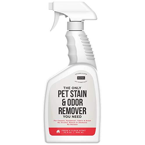 Natural Rapport Espray Antimanchas Desodorante Natural Olores de Mascotas – Limpieza Hogar contra Manchas de Mascotas Alfombras, Tapicerías – Limpiador Neutralizador de Olores Orina Mascotas (950 ml)