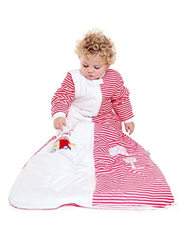 Slumbersafe Winter Baby Sleeping Bag Long Sleeves 3.5 Tog - Fire Engine, 0-6 Months/Small