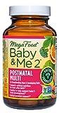 MegaFood, Baby & Me 2 Postnatal Multi, 60...