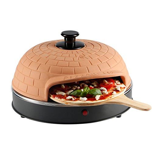 Ultratec Pizzarette, Horno para Pizzas con Placa de Metal para 4 Personas