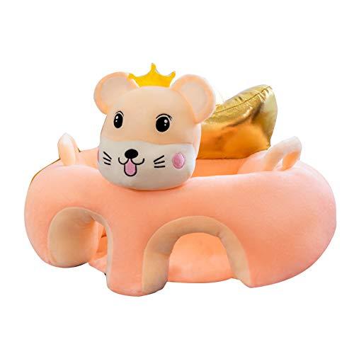Babystühle zum Aufsitzen, Cartoon-Sitz, Kinder-Babystuhl, Baby-Sofa, niedliches Baby-Sofa, Anti-Falling-Sofa, Cartoon-Tier-Plüschspielzeug für Baby