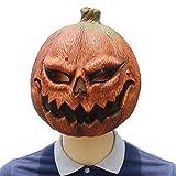 Taoke Lustige Halloween-Kürbiskopf Maske Grausigkeitschablone Latexmaske Tanzkleid Leistung...