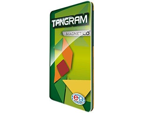 Editrice Giochi 6037175–Tangram Travel magnético