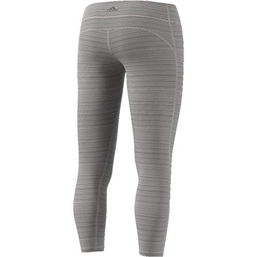 adidas Damen Believe This Regular-Rise Heathered 7/8 Tights - 3