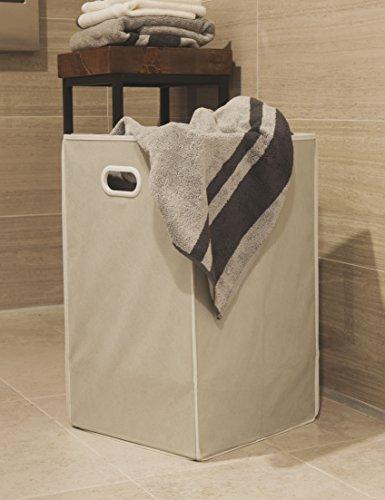 Simple Houseware Foldable Closet Laundry Hamper Basket, Grey