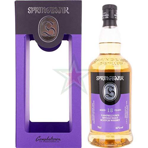 Springbank 18 Years Old Campbeltown Single Malt Scotch Whisky 46,00% 0,70 Liter