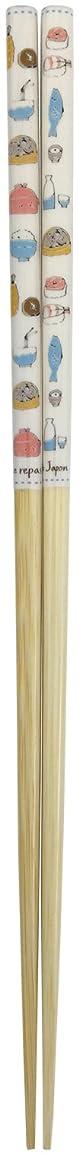 同封する不足形状アオバ 菜箸 天然竹 ハッピークック 水色 30cm