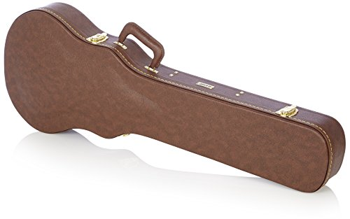 GATOR GW-LP-BROWN - Estuche para guitarra de madera, Escriba Gibson Les Paul, Castaño