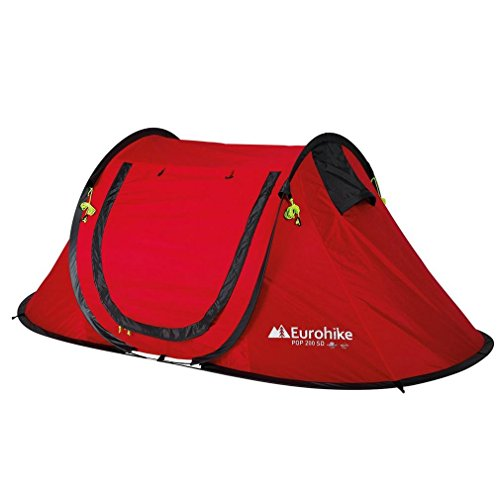 Eurohike Quick Pitch 200 SD 2-Person Tent, Red, One Size