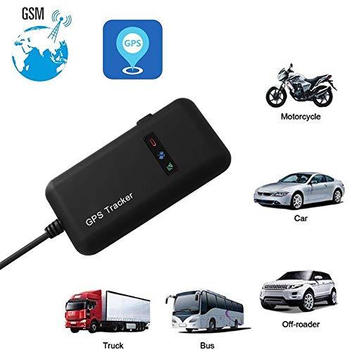 Magnet Wasserdichter GPS Tracker Mini Echtzeit Auto GPS GSM Tracker Monitoring System GPS Locator Anti Verloren GPS Ortungsgerät für Autos/Fahrzeug/Motorrad-Tracking-Gerät (Schwarz)