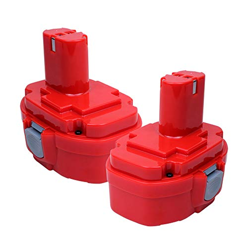 VANON 18V 3.0Ah Ni-MH Replacement Battery for Makita PA18 1822 1823 1834 1835 192826-5 192827-3 192829-9 193159-1 193140-2 193102-0 194105-7 for Makita Battery 2Pack