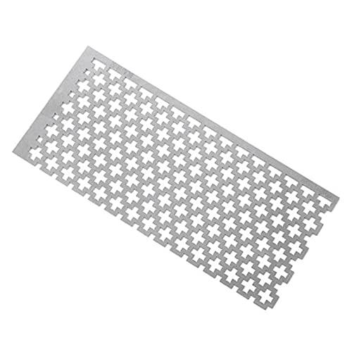 YANYAN Ring Store DIY. Diamant Malerei Kreuzstich Werkzeuge Zeichnung Lineal Square Bohrer Diamant Stickerei Zubehör Edelstahl (Color : 1PC)