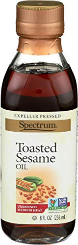 Spectrum Toasted Sesame Oil, 8 oz