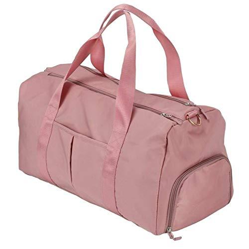 LZG Women Travel Handbag Duffle Bag Gym Overnight Shoulder Tote Carry on Luggage Bag