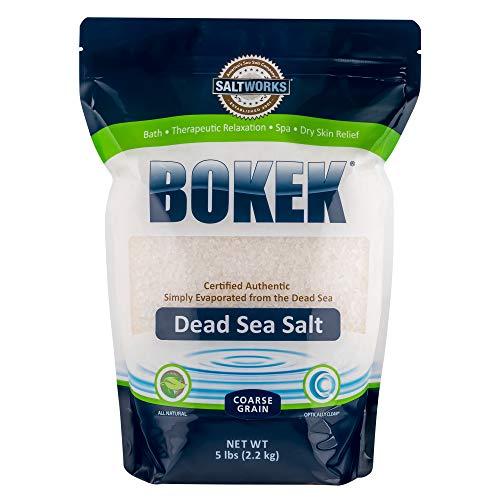 Bokek Dead Sea Salt, Coarse, 5 Pound Bag