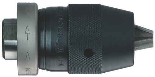 """Metabo 636602000 636602000-Portabrocas Cierre rápido Futuro Top Resistente a la percusión Capacidad 0-13 mm Rosca 1/2""""-20 UNF, Negro, 1/2-Inch"""