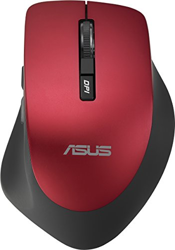 ASUS WT425 Wireless Optical Mouse, Red