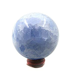 Large Blue Celestite Crystal Ball