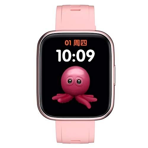 Inteligente Reloj Sports Tracker Impermeable Pantalla 1.69 En Completa con Contador de Paso de Control de música Compatible con iPhone Android Rosa Modos de Ejercicios múltiples