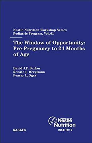 The Window of Opportunity: Pre-Pregnancy to 24 Months of Age: 61st Nestlé Nutrition Workshop, Pediatric Program, Bali, April 2007.: 61st Nestle ... Nutrition Institute Workshop Series, Band 61)