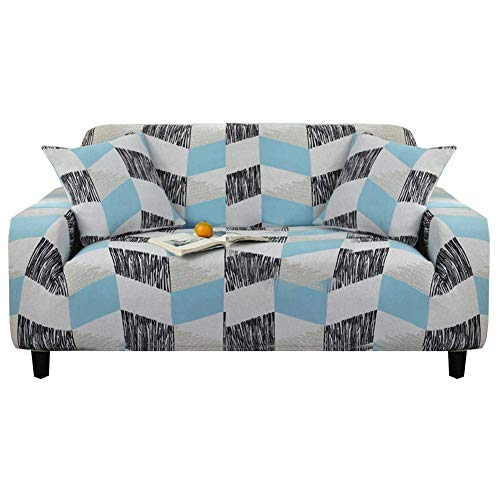 Iwinna Stretch Sofa Protective Cover Anti-Slip Elastic Chair Couch Furniture Protector Sofa Cover 1/2/3 Seater for Sofa Bed Seat Cushion, b, Single