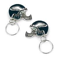 aminco NFL Philadelphia Eagles 2-Sided Helmet Bottle Opener Keychain