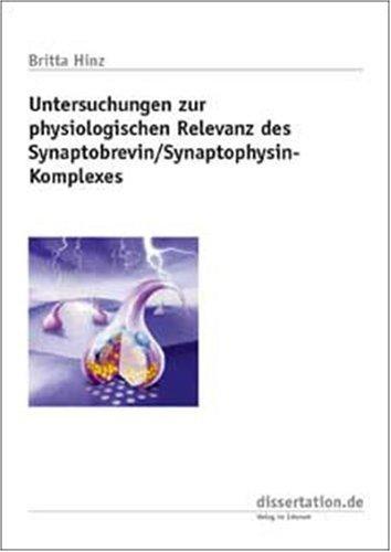Untersuchungen zur physiologischen Relevanz des Synaptobrevin /Synaptophysin-Komplexes