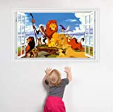 floolter König der Löwen Wandaufkleber Abziehbilder Dekor