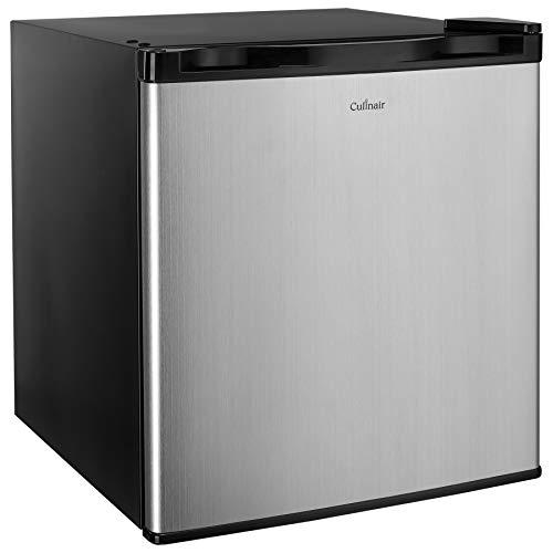 Culinair AF160S 1.6 Cubic Feet Compact Refrigerator, Black, 1.6Cu.