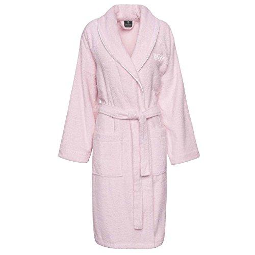 Descamps Luxury Egyptian Cotton Bathrobe Ballerine (Soft Pink) Bathrobe: Small