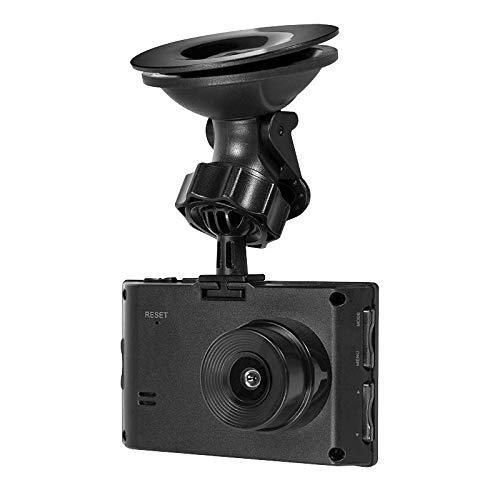 LogiLink UA0221 DVR Autokamera/Dashcam mit Loop-Aufnahme in HD (720p) für die Windschutzscheibe, Schwarz
