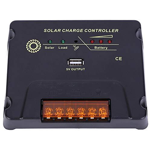 YWBL-WH Regolatore di carica solare MPPT, regolatore di pannello intelligente LCD con interruttore automatico 12V/24V 10A Scheda di controllo CPY Regolatore di scarica di carica