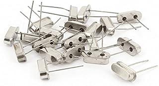DealMux 20 x Silver Tone 16.9344M Hz 16.9344M Quartz Crystal Oscillators HC-49S