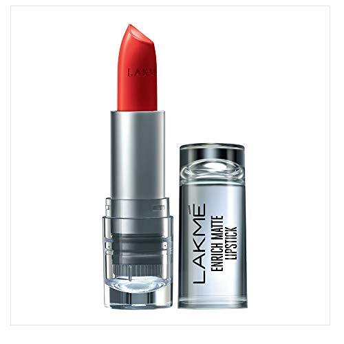 Lakmé Enrich Matte Lipstick, Shade RM14, 4.7g