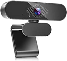 Teaisiy USB Webcam with Microphone, 1080P HD Streaming Webcam for PC,MAC, Laptop, Plug and Play Web Camera for...